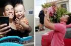 """Single-Vater zieht sein Kind allein auf, nachdem seine Freundin ihn verlassen hat: """"Meinem Sohn fehlt es an nichts"""""""
