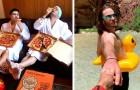 15 divertidas fotos de jóvenes que se burlaron de todas aquellas mujeres que publican fotos poco naturales en las redes sociales
