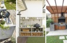 Barbecue in giardino: gli spunti migliori per allestire comodi angoli cottura all'aperto
