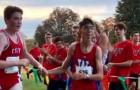 En autistisk pojke tappar bort sig under ett maratonlopp, men en av hans medtävlande hjälper honom genom att hålla honom i handen under de sista kilometerna