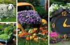 Jardins extravagants : 15 trouvailles bizarres et vraiment créatives pour décorer en recyclant des objets de récup'