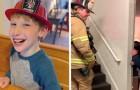 Un pompiere nota un bimbo che lo fissa in silenzio e decide di parlargli nella lingua dei segni: l'incontro è magico