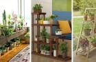 Étagères cache-pots : mettez en évidence vos plantes et vos fleurs avec ces belles idées de meubles