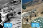 8 confronti fotografici ci mostrano gli effetti devastanti dei cambiamenti climatici