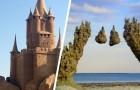 Castelli di sabbia: 15 esempi di creazioni in riva al mare che farebbero invidia ad ogni architetto