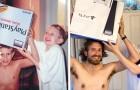 Il potere della nostalgia: 17 persone che hanno ricreato con affetto ed ironia vecchie foto di famiglia