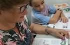 A 63 anni impara a leggere e scrivere grazie al nipotino: seguono assieme le lezioni a distanza con la maestra