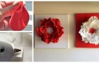 Quadri con fiori per la festa della Mamma: scopri come realizzarli con la gomma crepla