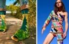 Absurde kleding: 15 mensen die ondanks hun inspanningen de grens van goede smaak hebben overschreden