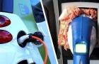 Danneggiate alcune colonnine di ricarica per auto elettriche: ci hanno messo dentro carne macinata