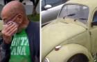 Een gepensioneerde leraar wordt gedwongen zijn auto te verkopen: zijn leerlingen kopen hem om de auto aan hem terug te geven