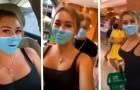 Si dipinge la mascherina sul viso ed entra in un supermercato: l'influencer rischia l'espulsione dal paese