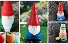 Gnomes colorés dans le jardin ? Découvrez comment en créer en utilisant de simples pots en terre cuite