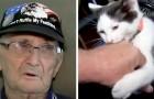 Anciano cae en la ducha y queda en el piso por 16 horas: el gato lo salva llevándole el celular