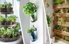 Herbes aromatiques à la maison : voici des idées pour décorer la cuisine et en avoir toujours à disposition
