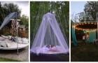 Vieux trampoline élastique ? Transformez-le en meuble avec ces solutions géniales