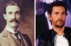 15 Berühmtheiten haben unglaubliche Ähnlichkeiten mit Menschen, die in fernen Epochen lebten