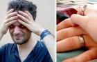 A husband asks for a divorce: