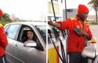 Un benzinaio paga il rifornimento a una ragazza in difficoltà e riceve una ricompensa pari a 8 anni di stipendio