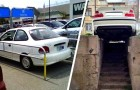 """""""Waar heb je geleerd te parkeren?"""": 18 mensen die hun auto op de meest absurde plekken hebben achtergelaten"""