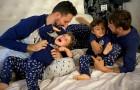Genitori gay travolti dagli insulti sui social per aver raccontato la storia della loro famiglia tutta al maschile