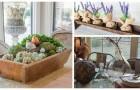 Centre de table rustique : décorez votre cuisine et votre salon avec de fantastiques compositions bonnes pour toutes les saisons
