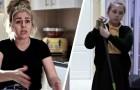 Esta mãe quer que suas duas filhas façam as tarefas domésticas, enquanto os dois filhos podem brincar