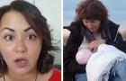 Een moeder wordt aangevallen omdat ze haar kind op een openbare plaats borstvoeding geeft: haar getuigenis zet aan tot nadenken