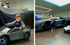 Rapper regala al figlio di 2 anni una Lamborghini giocattolo e una da £100k: deve esercitarsi per l'esame di guida