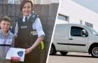 9-jähriger Junge rettet Mädchen vor 3 Männern, die sie entführen wollten, und zeigt großen Mut