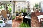 Balconi, terrazzi e portici: rendili super-confortevoli con questi mobili e oggetti