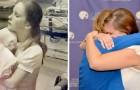 Pubblica una foto sul web e ritrova l'infermiera che le aveva salvato la vita 38 anni prima
