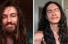 Der Charme von langem Haar: 15 Männer haben sich durch geschickte Wahl die Haare wachsen lassen