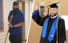 Ha fatto il bidello per 23 anni, adesso si è laureato con il massimo dei voti per diventare insegnante