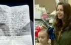 Va a ritirare la torta per sua figlia ma una donna l'aveva pagata per lei: le parole sul biglietto sono commoventi