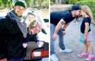 Hij moet in zijn eentje zijn dochter grootbrengen nadat de moeder hen in de steek heeft gelaten: een hele lieve supervader