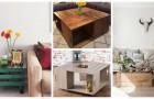 Cassette di legno? Trasformale in fantastici tavolini da salotto con queste idee