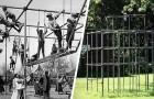 Gefährliche Spiele: 15 Fotos aus der Vergangenheit zeigen uns, dass die Spielplätze von damals alles andere als sicher waren
