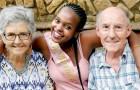 """Schwarzes Mädchen wird von einem alten Ehepaar adoptiert: """"Danke dafür, dass ihr mir immer das Gefühl gegeben habt, geliebt zu werden."""""""