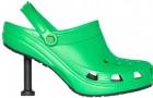 Bequem, aber stilvoll: Balenciaga bringt seine Crocs mit Stiletto-Absatz auf den Markt