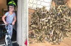 Bimbo di 2 anni trova una busta in casa e distrugge oltre 1000$ nel tritadocumenti