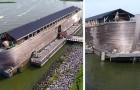 Angleterre, saisie d'une réplique de l'Arche de Noé :