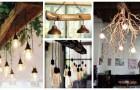 Lampadari di legno: arreda la casa in modo rustico ma moderno con queste idee