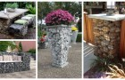Arreda il giardino con i gabbioni di pietra: le strutture perfette per decorare con gusto e praticità