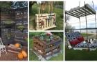 Pallet in giardino: lasciati ispirare da tanti progetti semplici per arredare i tuoi spazi verdi