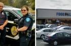 Uma mãe é denunciada por roubar comida, mas os policiais mudaram de ideia: ela e seus filhos tinham uma geladeira vazia