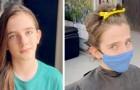 Bimbo di 9 anni si fa crescere i capelli per poterli donare ai bambini malati di cancro