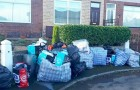 A landlord changes the lock and throws the tenant's belongings out on the street: he's fined by the courts