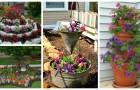 Ravviva il giardino con aiuole, fioriere e strepitose decorazioni fai-da-te
