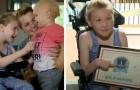 Niña sobre silla de ruedas salva a su hermano de 18 meses: estaba por ahogarse en la piscina